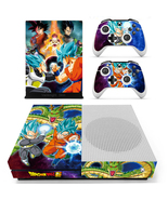 Xbox One S Slim Console Skin Dragon Ball Z Goku... - $12.00