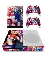 Xbox One S Slim Console Skin Harley Quinn Batma... - $12.00