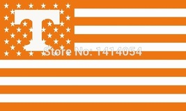 NCAA Tennessee Volunteers Stars & Stripes 3'x5' Indoor/Outdoor Team Nati... - $9.99