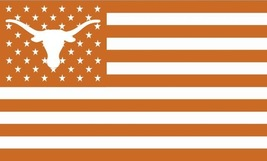 NCAA Texas Longhorns Stars & Stripes 3'x5' Indoor/Outdoor Team Nation Fl... - $9.99