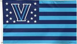NCAA Villanova Wildcats Stars & Stripes 3'x5' Indoor/Outdoor Team Nation... - $9.99