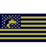 NCAA Washington Huskies Stars & Stripes 3'x5' Indoor/Outdoor Team Nation... - $9.99