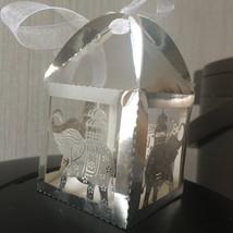 100pieces Elephant Metallic Silver Wedding Gift Box,Candy Box,Wedding Favors - $34.00