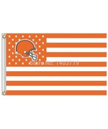 NFL Cleveland Browns Stars & Stripes 3'x5' Indoor/Outdoor Team Nation Fl... - $9.99