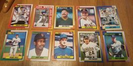 Topps 1990 Baseball Cards LotOf 54 Cards image 3