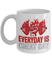 PixiDoodle Foodie Fitness Coach Exercise Coffee Mug (11 oz, White) - $19.94