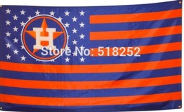 MLB Houston Astros Stars & Stripes 3'x5' Indoor/Outdoor Team Nation Flag... - $9.99