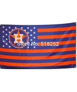 MLB Houston Astros Stars & Stripes 3'x5' Indoor/Outdoor Team Nation Flag... - $9.99