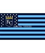 MLB Kansas City Royals Stars & Stripes 3'x5' Indoor/Outdoor Team Nation ... - $9.99