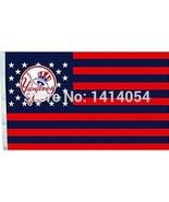 MLB New York Yankees Stars & Stripes 3'x5' Indoor/Outdoor Team Nation Fl... - $9.99