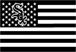 MLB Chicago White Sox Stars & Stripes 3'x5' Indoor/Outdoor Team Nation Flag - $9.99