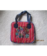 Guatemala Cloth Handbag/tote/travel bag - $19.99