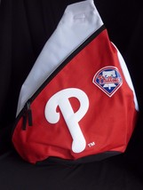 Philadelphia Phillies Sling Backpack Red White  MLB - $24.45