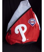 Philadelphia Phillies Sling Backpack Red White  MLB - $24.45