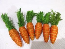 Easter Natural Looking Carrots Bowl Basket Fill... - $9.99