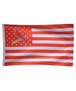 MLB St. Louis Cardinals Stars & Stripes 3'x5' Indoor/Outdoor Team Nation... - $9.99