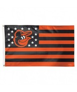 MLB Baltimore Orioles Stars & Stripes 3'x5' Indoor/Outdoor Team Nation F... - $9.99