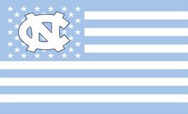 NCAA North Carolina Tarheels Stars & Stripes 3x5 Indoor/Outdoor Team Nat... - $9.99