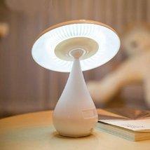 E Support Mushroom Touch Dimming LED Desk Lamp Anion Air Purifier Rechar... - £20.44 GBP