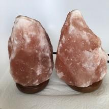 """2x Himalaya Natural Handcraft Rough Raw Crystal Salt Lamp, 7.75""""-8"""" Tall,XL146 image 2"""