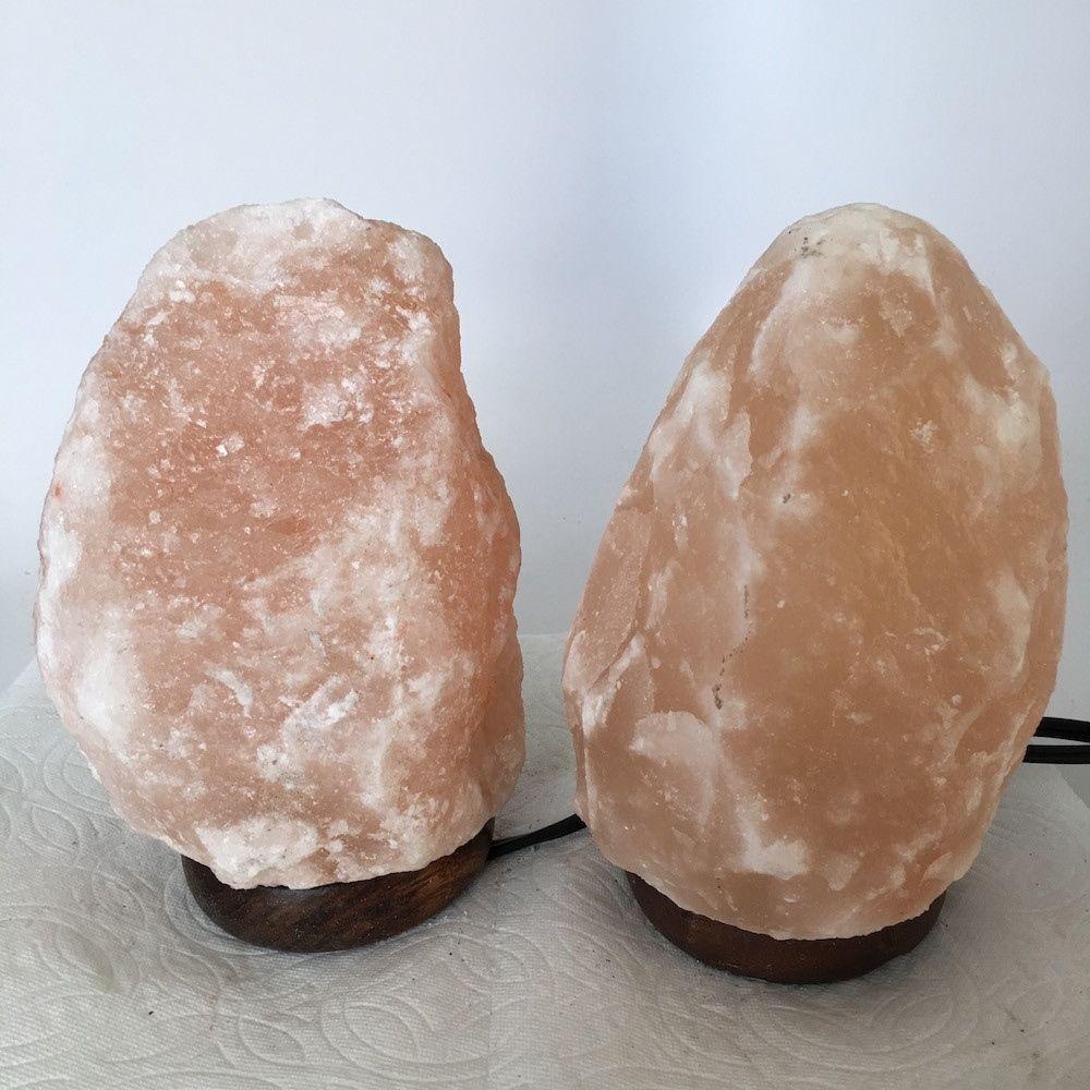 """2x Himalaya Natural Handcraft Rough Raw Crystal Salt Lamp, 7.5""""-7.5"""" Tall,XL119 image 2"""