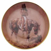 Spirit Of The Desert Hermon Adams Native American Plate CP2568 - $35.98