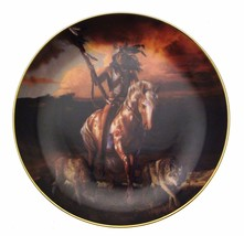 Spirit Of The Rising Sun Hermon Adams Native American Plate CP2571 - $35.98