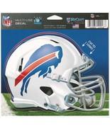 "NFL Buffalo Bills Helmet Wincraft Multi-Use Ultra Decal Cling ""5x6""  - $6.95"
