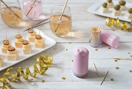 Toothpick dispenser Original Design Box Bar Home Gifts Racks Holders Sto... - $26.37