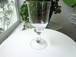 Premium Quality Clear Crystal Water Goblet Unknown Maker - $8.91