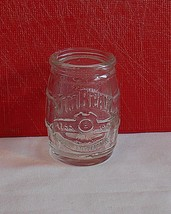 Jim Beam 200th Anniversary Mini Whiskey Barrel Shot Glass / Toothpick Holder - $3.99