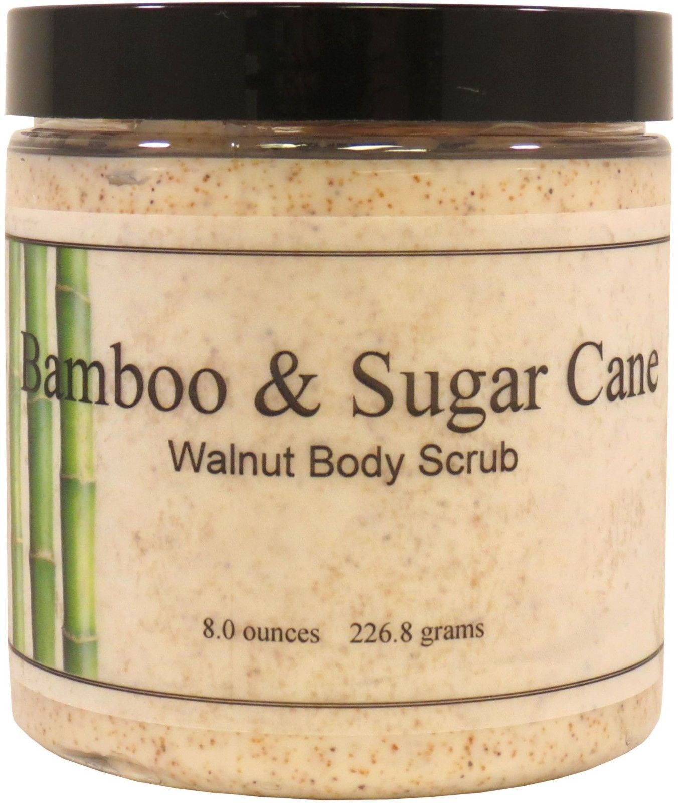 Bamboo and Sugar Cane Walnut Body Scrub