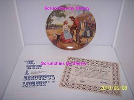 Oklahoma Plate Collector Beautiful Morning Plate Bradford Exchange Retired  - $14.97
