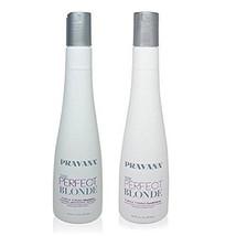 Pravana das Perfekte Blond Lila Straffend Shampoo Haarspülung 299ml - $38.00