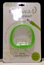 StylWear Silicone Stylus Bracelet For The High Tech Lifestyle Green - $5.99