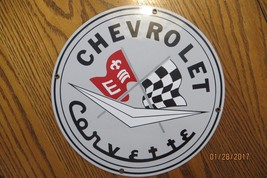 CHEVROLET CORVETTE RACING CHECKERED FLAG PORCEL... - $137.75