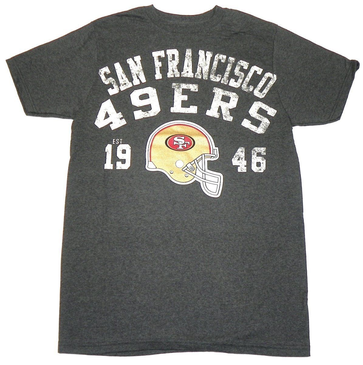 San Francisco 49ers Shirt Men's NFL Vintage Est. Year Tee Football G-III T-Shirt
