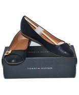 New Tommy Hilfiger Women's Dark Blue Flats (TWCATYAN2) Choose Size  - $25.99