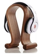 Wood Gaming Headphone Stand  Music Headset Dispaly Shelf Earphone hange... - $33.65