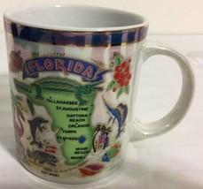 Florida with Major Cities Coffee Cup Mug - $9.89