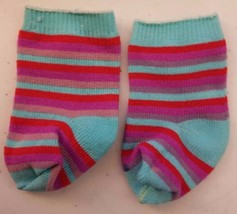 "American Girl SOCKS Clothes 18"" Doll Retired Re... - $9.74"