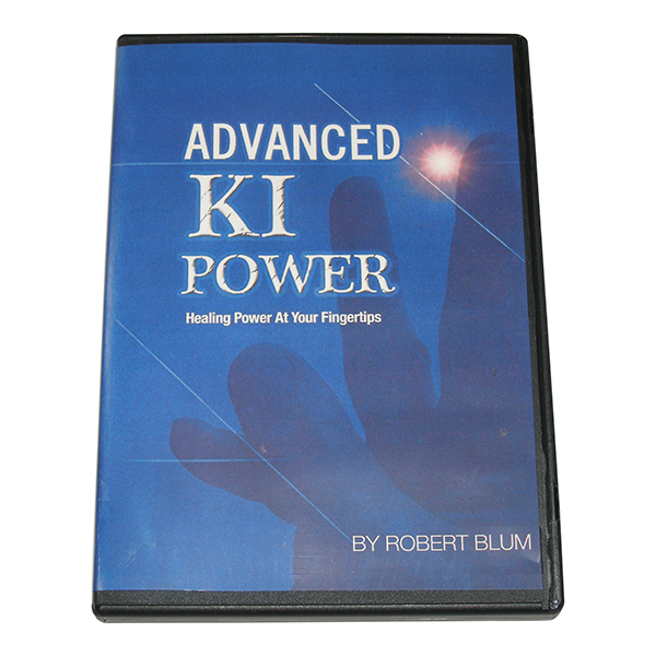 Advanced Ki Internal Power Japanese Healing at Your Fingertips DVD Robert Blum