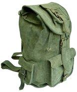 "16"" Suede Leather Retro Rucksack Backpack College Bag school Picnic Trav... - $80.50"