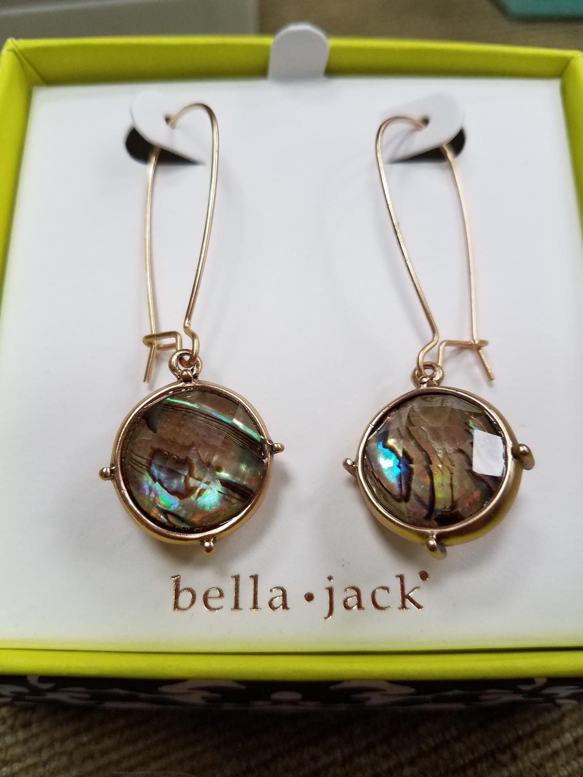 Modern drop earrings by bella & jack