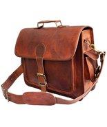 """El-Cuero Mens Genuine Leather messenger bag for 15.6"""" laptop shoulder ba... - $74.75"""