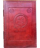 Jaald Handmade Dragon Ball Team four star embossed leather journal refil... - $27.60