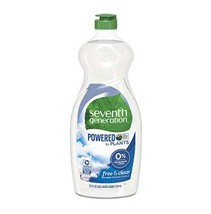 Seventh Generation Dish Liquid Soap, Free & Clear, 25 oz, Pack of 6 Pack... - $26.43