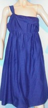 Ann Taylor Loft Size 6 One Shoulder Dress Summe... - $15.83
