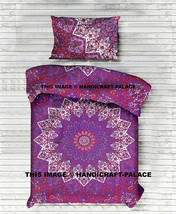 Indian Psychedelic Bedspreads Star Mandala Tapestry Hippie Bohemian Bedd... - $22.43