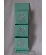 Mid Century Aqua Turquoise Letter Notes Keys Vintage Plastic Bill Organi... - $29.98